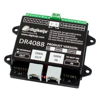 DR4088LN-GND_BOX LocoNet komplette Starter-Kit mit 32 Meldestellen