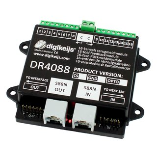 DR4088OPTO 16-kanal Rückmeldemodul S88N