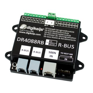 DR4088RB-CS 16-fach Rückmeldemodul R-BUS™