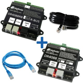 DR4088RB-OPTO_BOX RBUS™ komplette Starter-Kit mit 32 Meldestellen