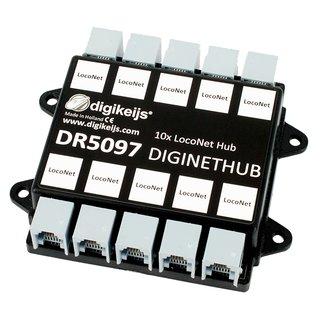 DR5097 DigiNetHub (10x LocoNet)